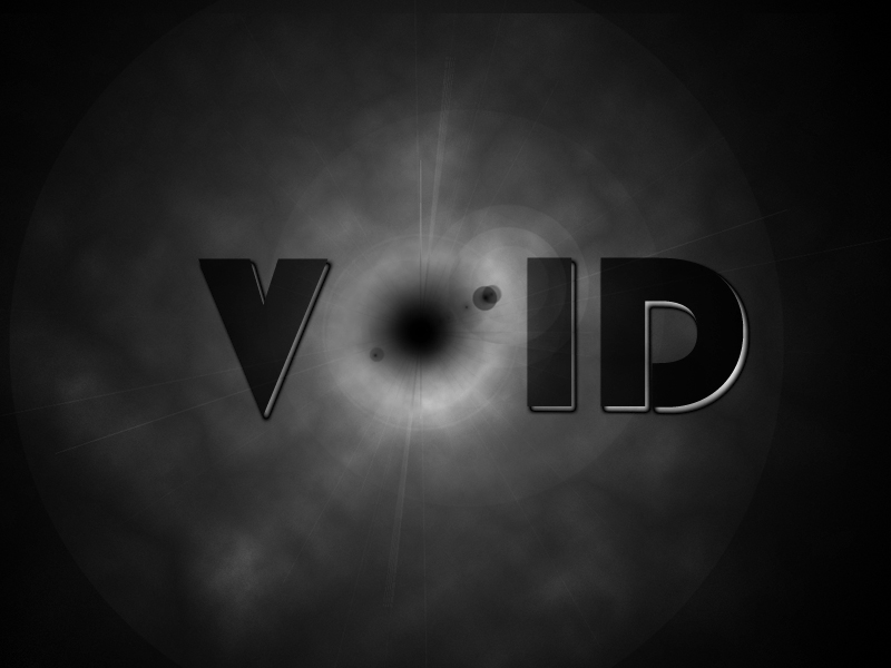 The world to defy!!: A letter to Void