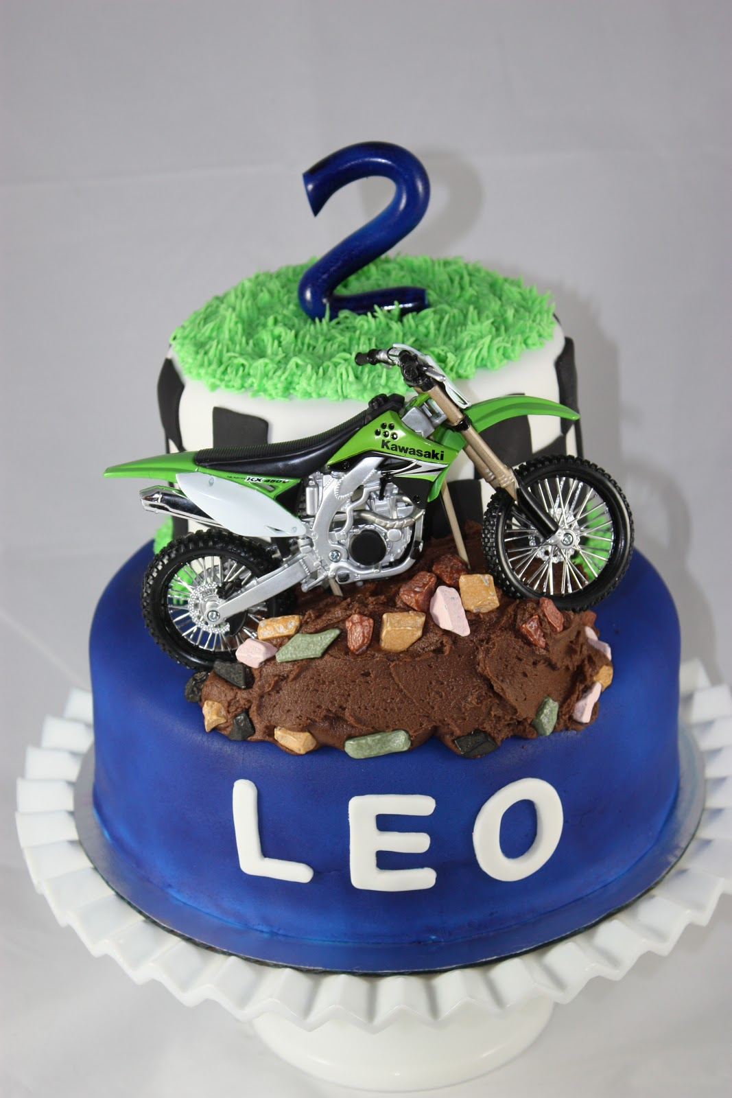 dirt bike cake - photo #4