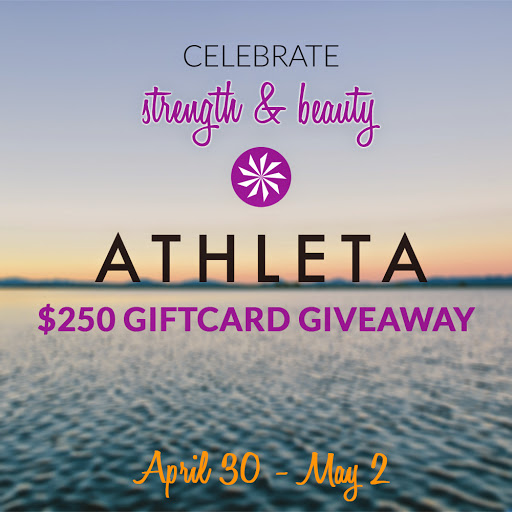 Athleta $250 Giftcard Giveaway | Taste As You Go
