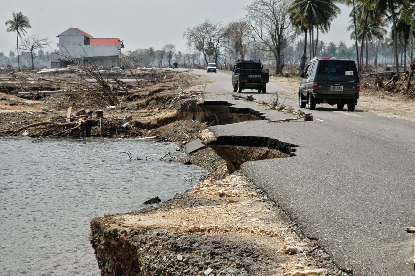 Jalan Laksamana Malahayati Tsunami 2004