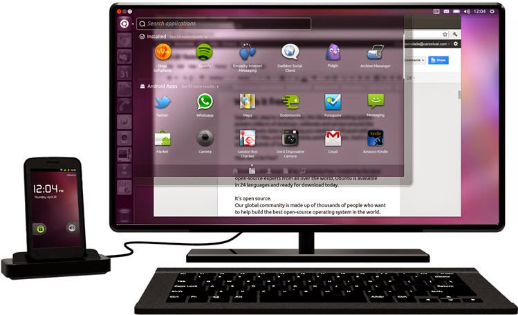 Proyek Ubuntu for Android Dihentikan