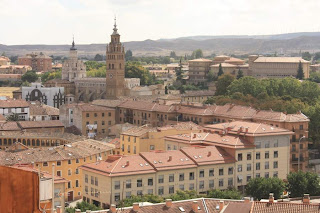 Cathedral of Tarazona from the old town