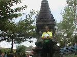 Di Miniatur Candi Jawi - Jatim Park I
