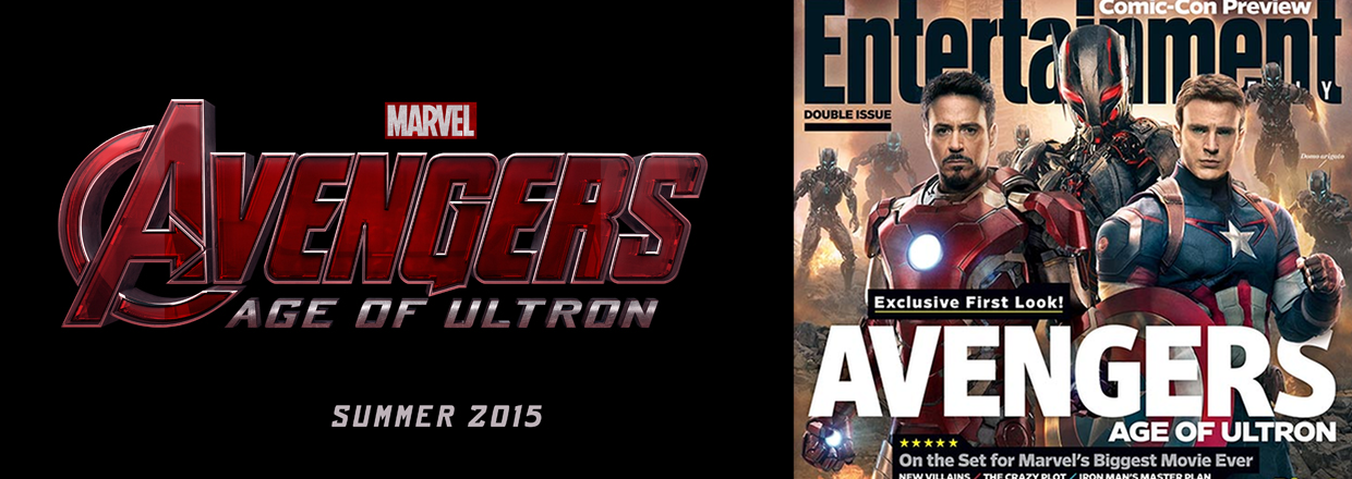 Avengers: Age of Ultron: First Look at Ultron, Iron Man & Captain America