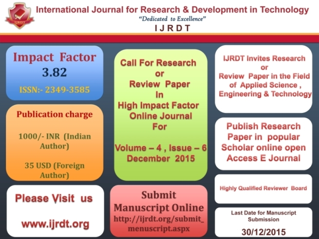 journal of scientific research and essays impact factor Kindly check your spam folder of email for acceptance of research paper impact factor 4396 (sjif (international journal for scientific research and.