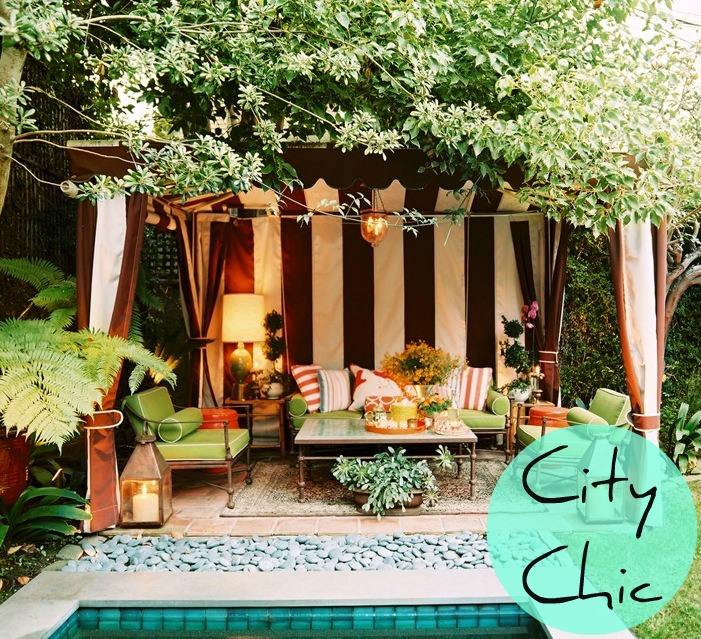 10 Ways To Create A Backyard Oasis: Last London Lady: Create Your Outdoor Oasis