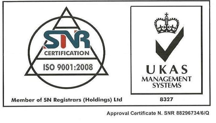 Siamo un ente Certificato UNI EN ISO 9001:2008