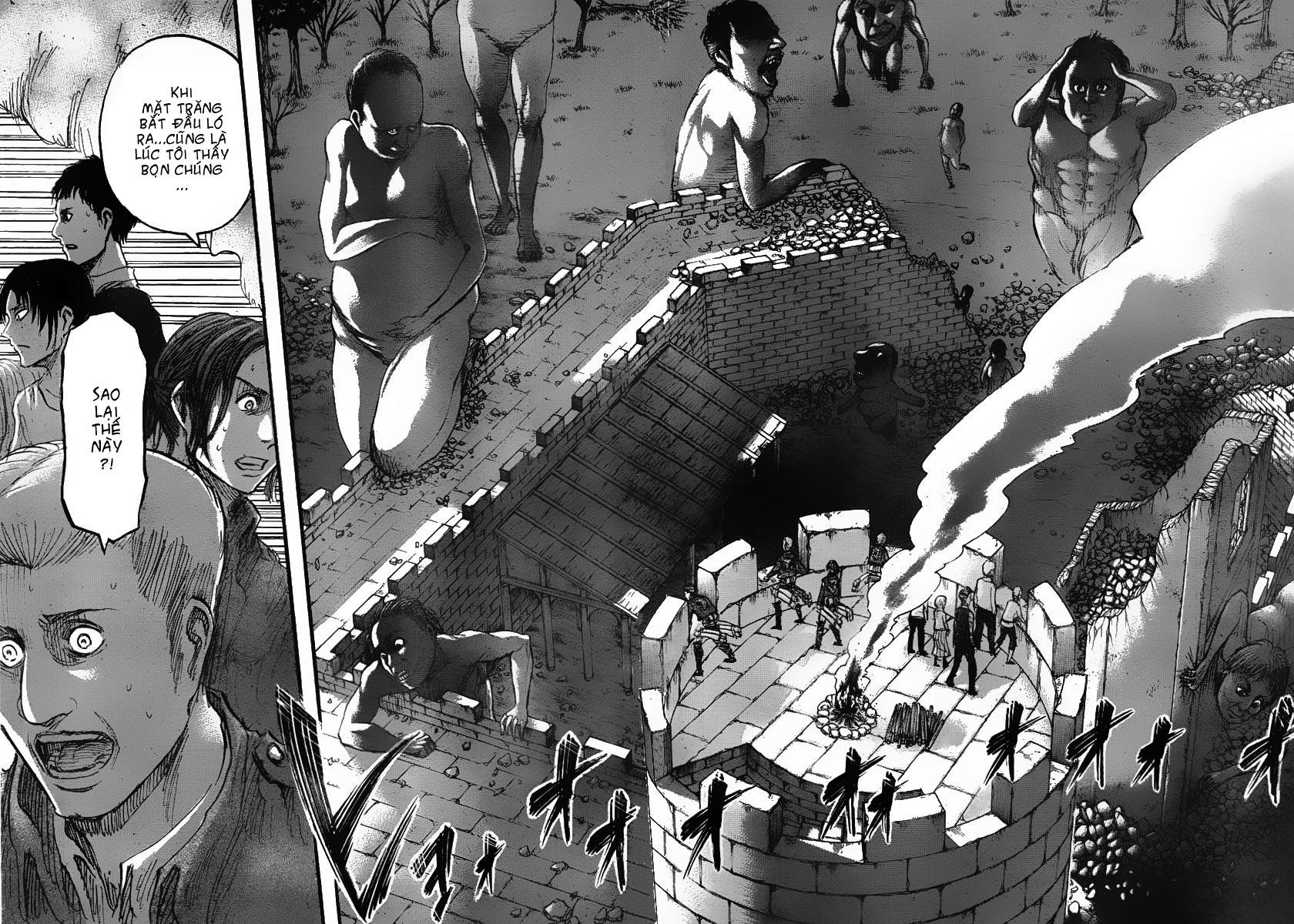 Attack on Titan chap 38 Trang 34