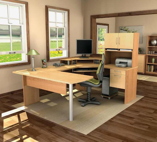 Maison moderne construction optez pour du mobilier de - Mobilier bureau maison ...