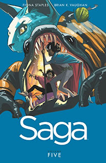 saga volume 5 saga tp review
