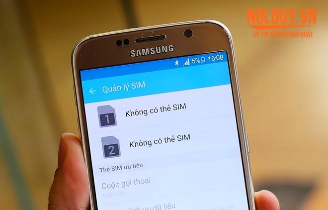 Màn hình của Samsung Galaxy S6 xách tay