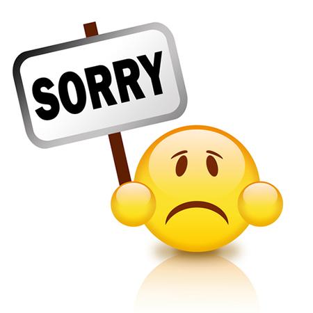 Sorry Emoticon | Symbols & Emoticons