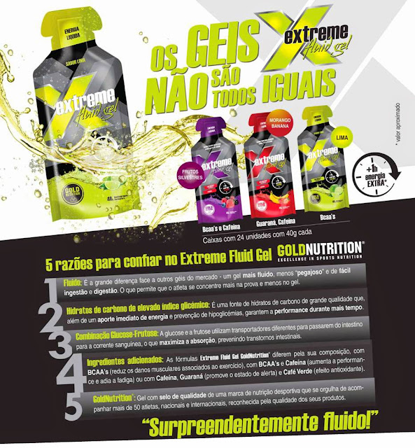 Extreme Fluid Gel Gold Nutrition