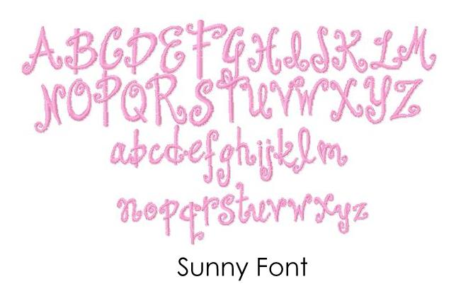 sew for you embroidery  fonts