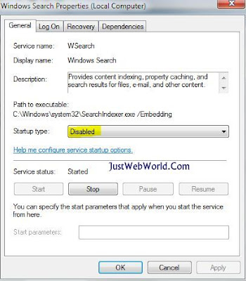 Windows Search Property