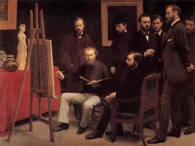 Il gruppo dei pittori di Batignolles a Parigi