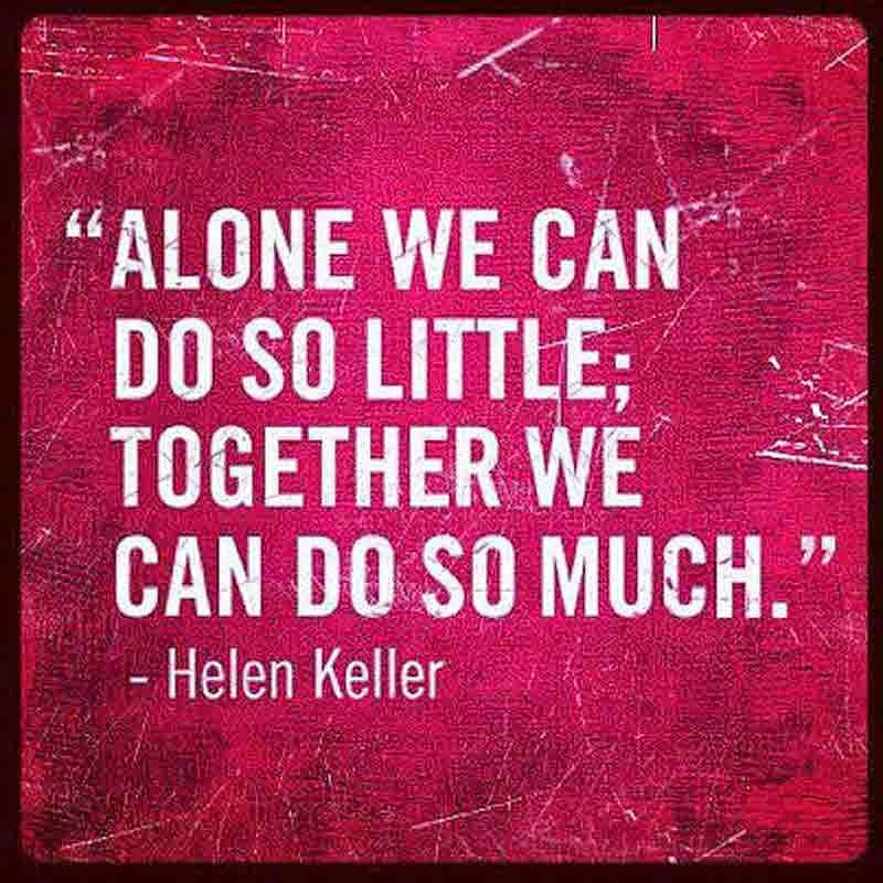 The Power of Being Together !
