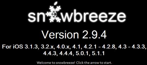 Sn0wbreeze 2.9.5