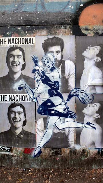 street art in santiago de chile nachonal paper arte callejero