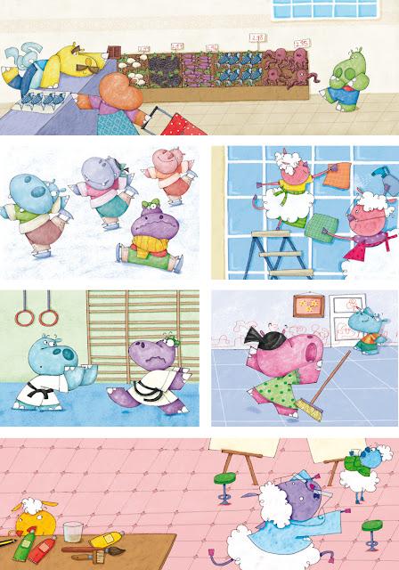 Minicuentos de hipopótamos y ovejas para dormir