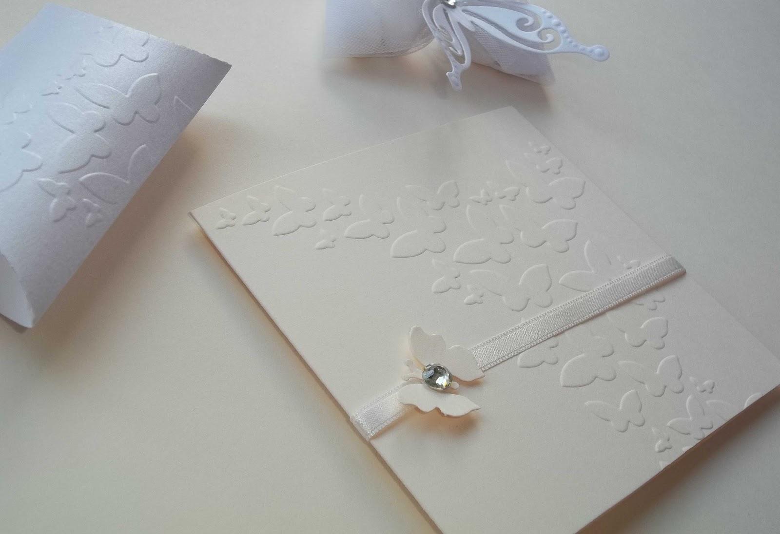 Matrimonio Tema Farfalle : Sara crea partecipazioni matrimonio tema farfalle