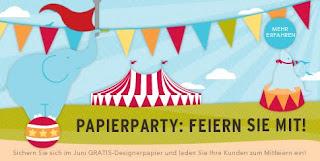 Papierparty vom 01.06. - 30.06.2012