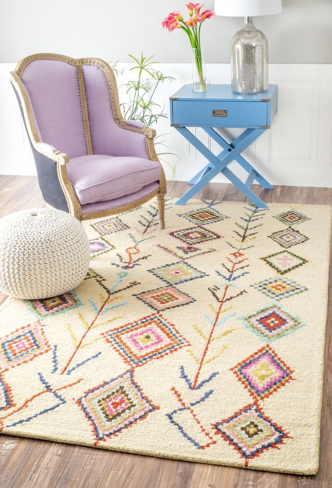 The Funky Monkey Berber Moroccan Multi Rug From Rugs Usa