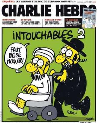 Capa da revista Charlie Hebdo