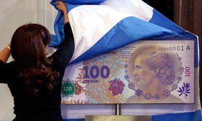 100 peso Evita banknote