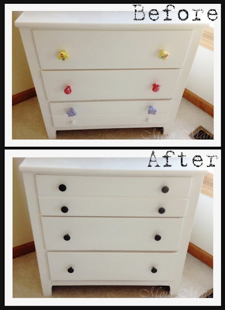 Before and After Dresser