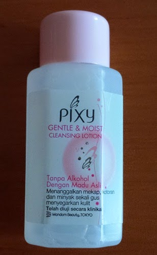 Pixy Cleansing Lotion, REMOVER MAKE UP PIXY, kempen 'Balik Kampung Bersama PIXY', sample free pixy