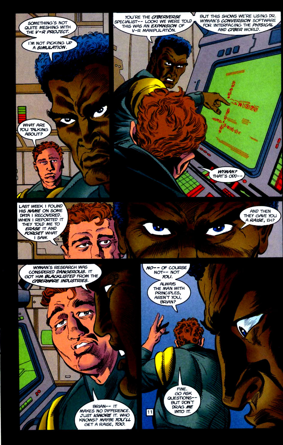 Deathstroke (1991) Issue #51 #56 - English 12