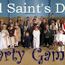All Saints Day DIY Costumes, games, and other ideas {Plus, a Link-up}