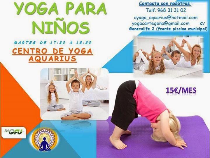 cursos de yoga para ninos
