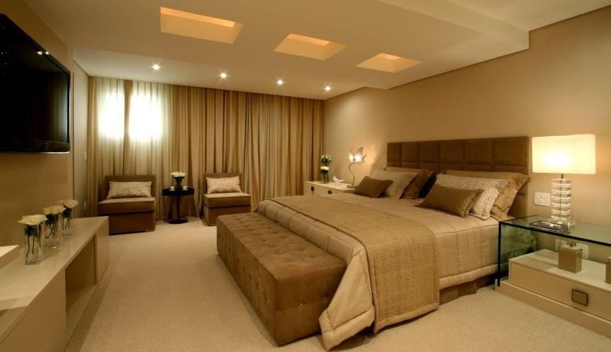 decoracao de interiores quarto de casal:Quarto De Casal