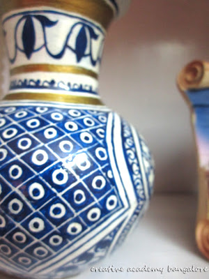 Moroccan pot painting