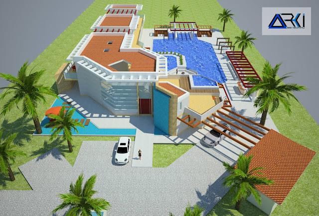 Proyecto arquitect nico final planos detalles y maqueta for Paginas para hacer planos 3d