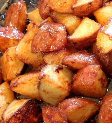 Honey Roasted Red Potatoes - Cook'n is Fun - Food Recipes, Dessert ...