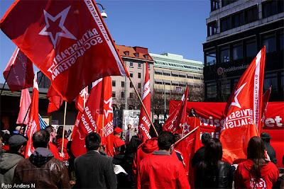 1 maj, Göteborg, första maj, demonstration, arrangemang, tal, talare, demonstrationståg, rättvisepartiet socialisterna, järntorget