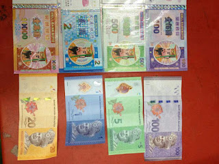 Duit baru malaysia macam duit neraka drp Hasbi dan Adibah Karimah