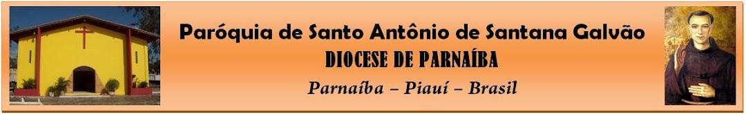 Paróquia de Santo Antônio de Santana Galvão - Diocese de Parnaíba
