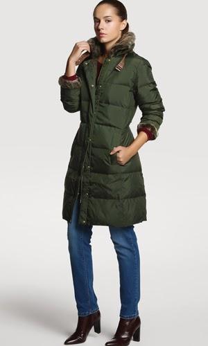 abrigo mujer Tommy Hilfiger