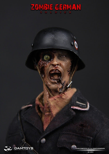 Onesixthscalepictures Dam Toys Zombie German Soldier