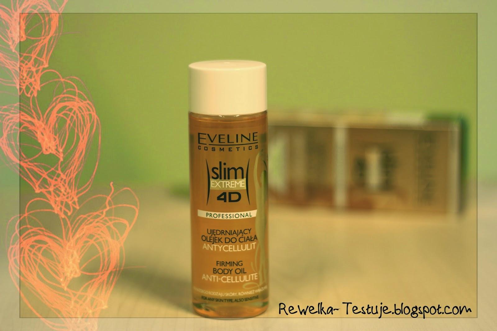 Ujędrniający olejek do ciała Antycellulit Slim Extreme 4D Eveline Cosmetics - Rewelka?