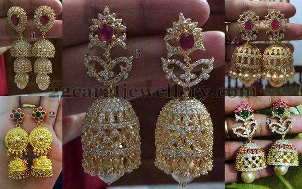Original Look Imitation Jhumkas