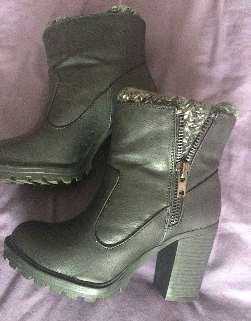 New look leather boots