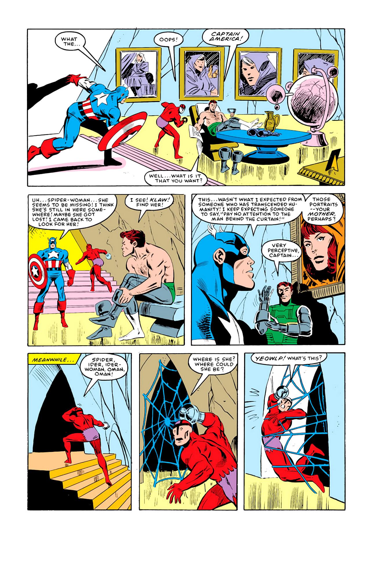 Captain America (1968) Issue #292l #219 - English 21