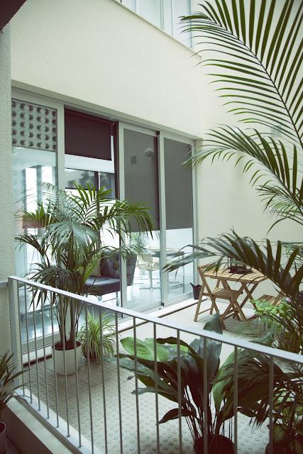 Proyecto interiorismo Valencia. Patio.