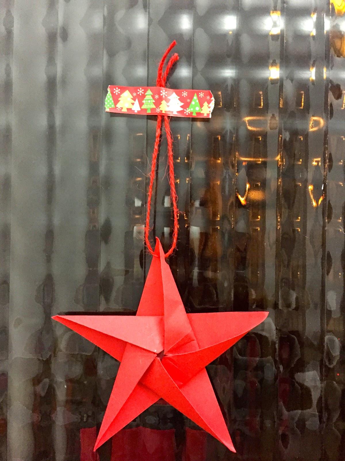 Estrellas de navidad manualidades - Manualidades de estrellas de navidad ...