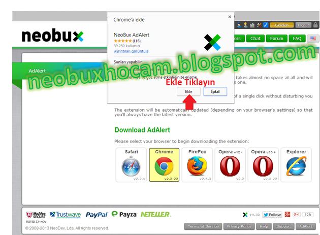 neobux adalert
